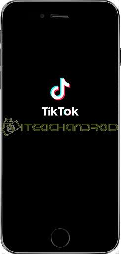 Langkah pertama buka aplikasi TikTok di smartphone Android atau iOS.