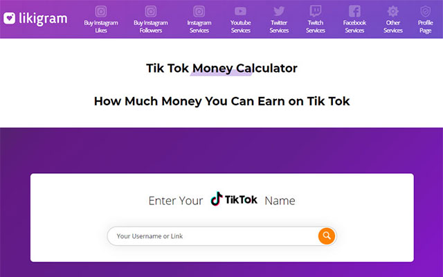 Menggunakan TikTok Money Calculator