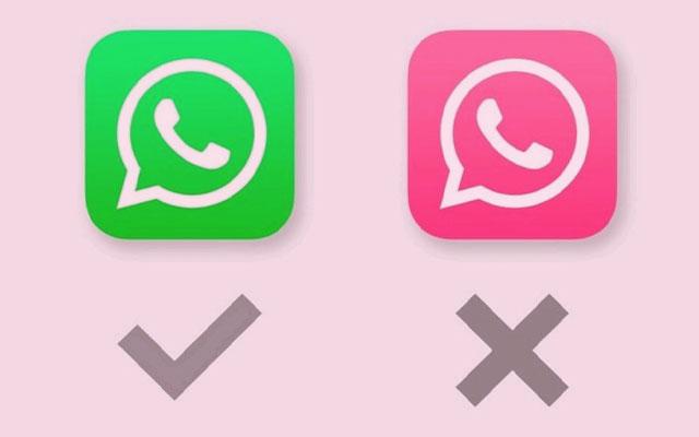 1. Uninstal WhatsApp Pink