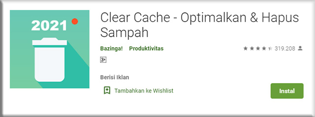 2. Clear Cache