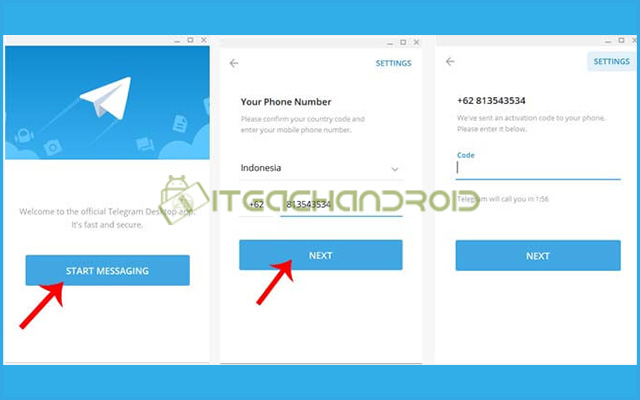 2. Daftar Akun Telegram