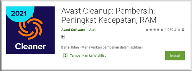 3. Avast Cleanup