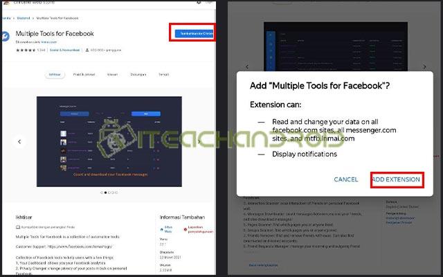 3. Tambahkan Ekstensi di Chrome