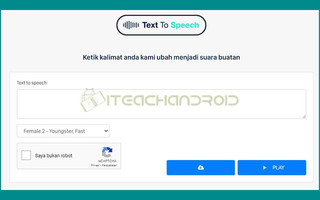4. Membuat Text to Mp3 via Botika.online 1