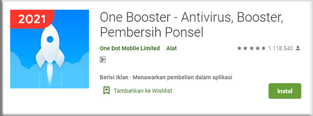 4. One Booster