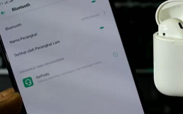 5. Hubungkan AirPods ke Android