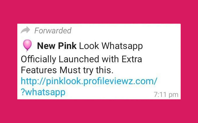 Bahaya Virus WhatsApp Pink