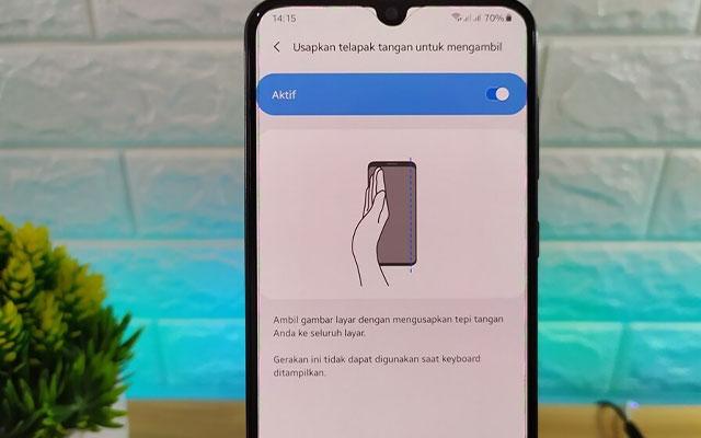 Screenshot Samsung A11 Tanpa Tombol