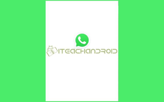 1. Langkah pertama silahkan buka aplikasi WhatsApp di perangkat Android milikmu