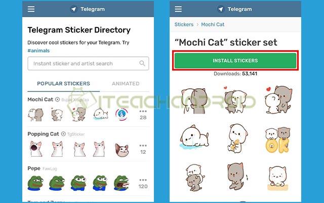 3. Download Stiker Telegram