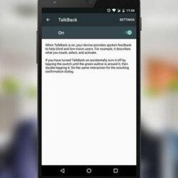 Cara Menonaktifkan Talkback Android