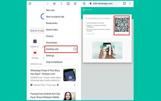 Cara Menyadap WhatsApp lewat Google Chrome