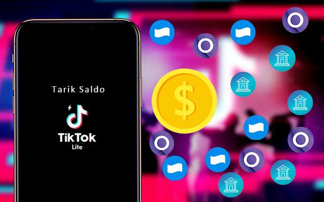 Cara Tarik Saldo TikTok Lite via Transfer Bank