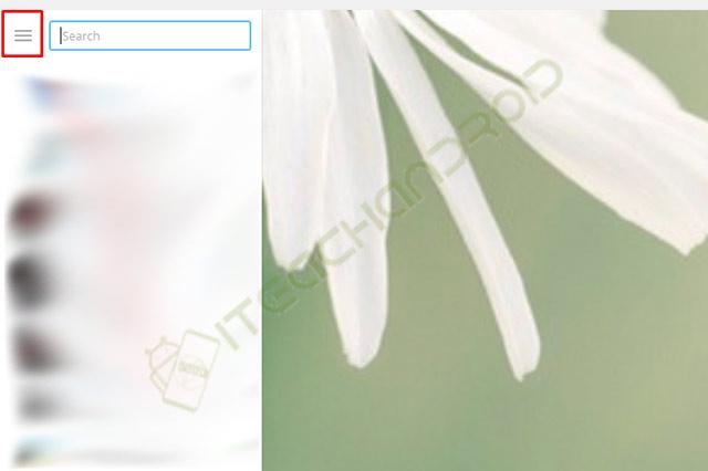 2. Klik Icon Garis Tiga