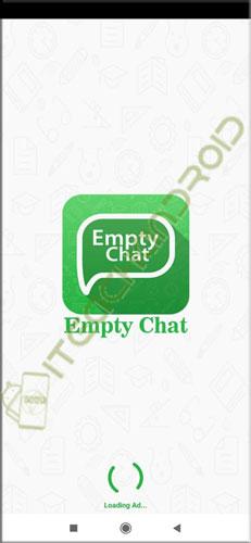 2. buka aplikasi Empty Chat