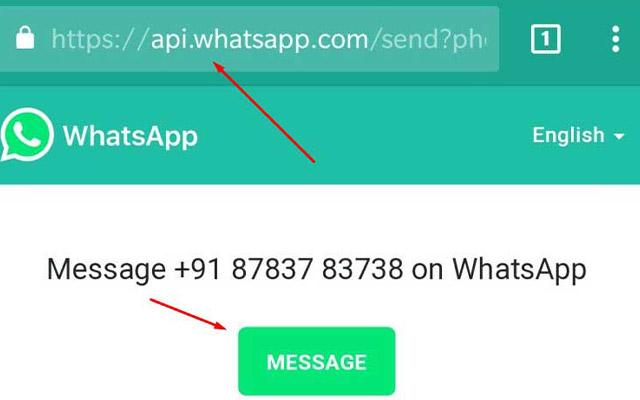 Gunakan API WhatsApp