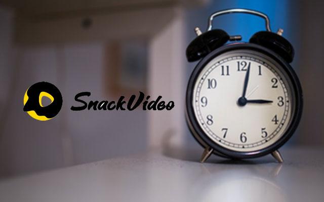 Jam Berapa Koin Snack Video