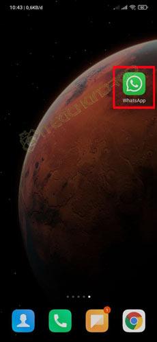 Silakan Buka Aplikasi WhatsApp