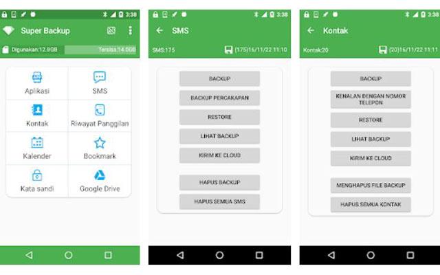 4. Cara Mengembalikan Aplikasi Terhapus dengan App Backup Restore Transfer