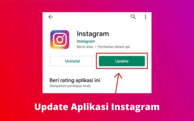 4. Update Aplikasi Instagram