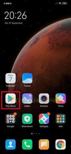 1. Buka Google Play Store