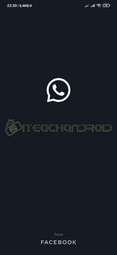 1. Jalankan Aplikasi WhatsApp